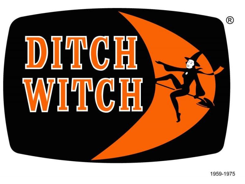 Логотип DITCH WITCH